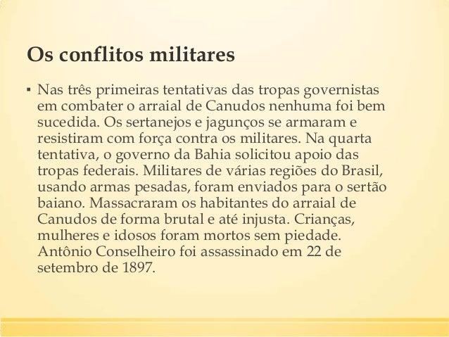 Mulheres e crianças, seguidoras de Antônio Conselheiro, presas durante os últimos dias da guerra.