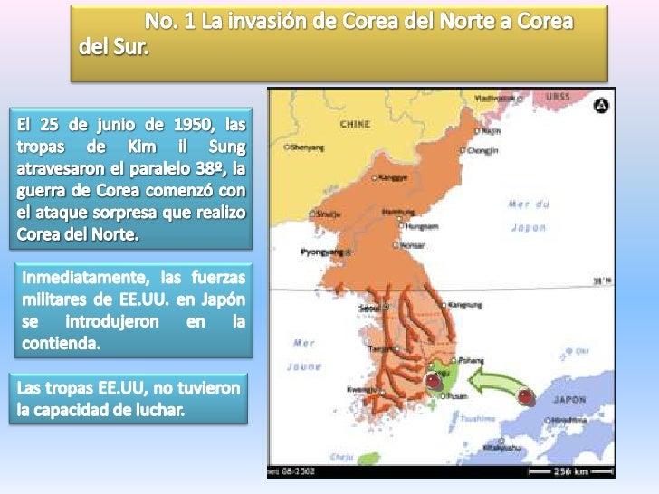 Guerra De Corea Mapa.Guerra De Corea
