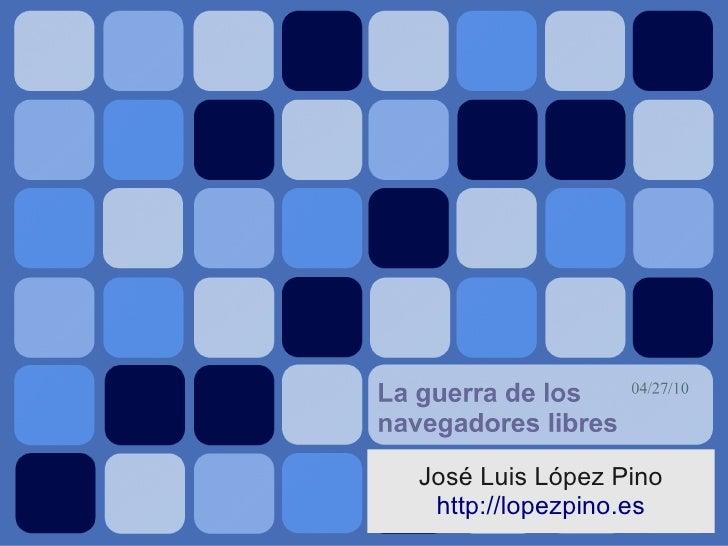 José Luis López Pino  http://lopezpino.es