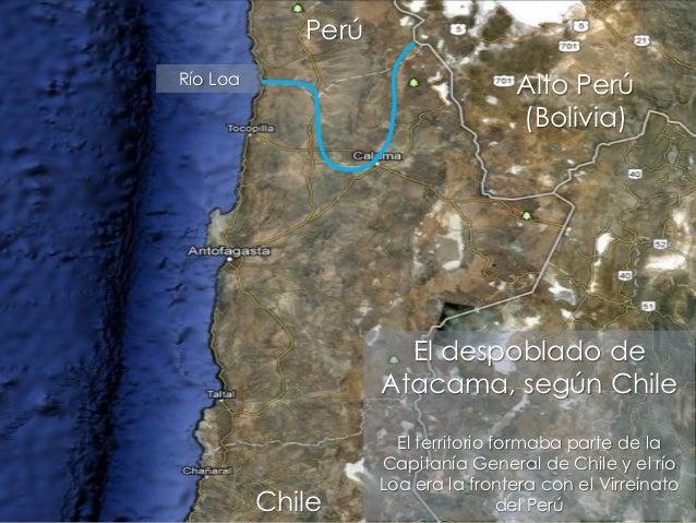 PerúRío Loa                                    Alto Perú                                    (Bolivia)                     ...