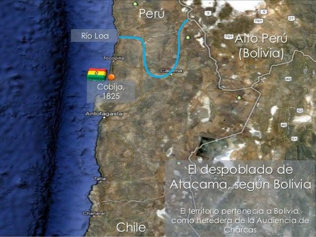 PerúRío Loa                                     Alto Perú                                     (Bolivia)    Cobija,     182...