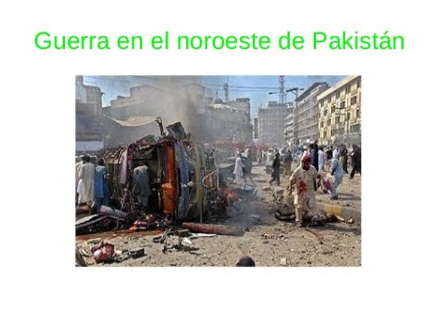Guerra en el noroeste de Pakistán