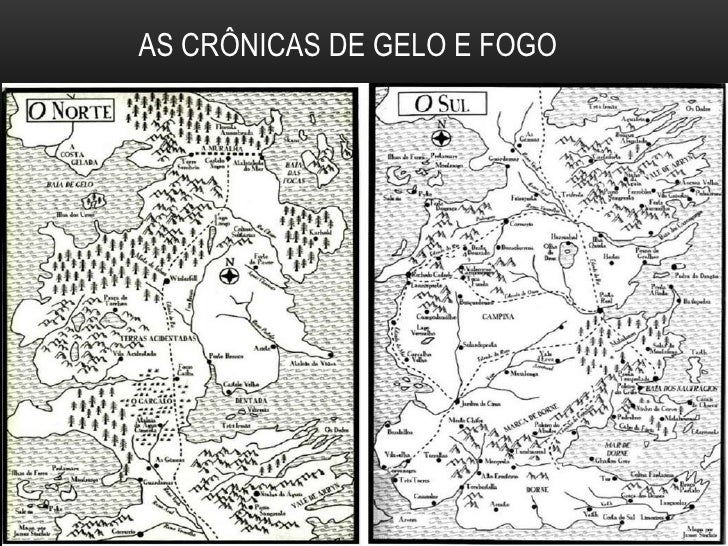 AS CRÔNICAS DE GELO E FOGO