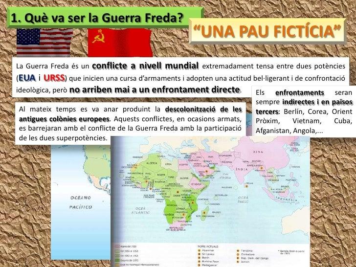 La Guerra Freda Slide 2