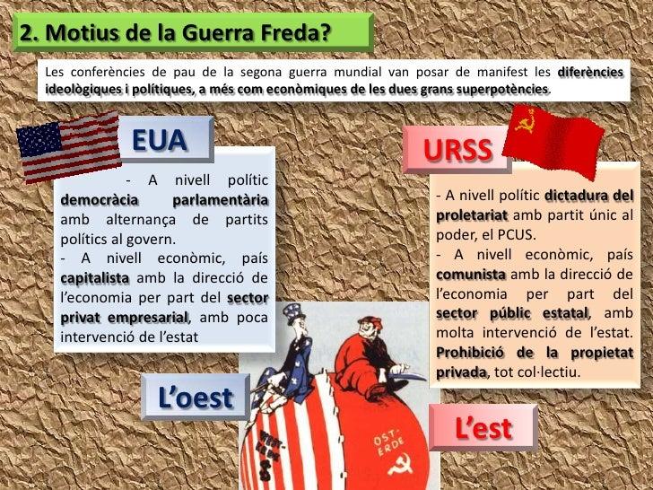 La Guerra Freda Slide 3