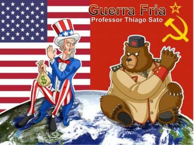 • Durante a 2ª Guerra, os americanos e britânicos superaram suas diferenças com a URSS para enfrentar o Nazismo alemão. Co...