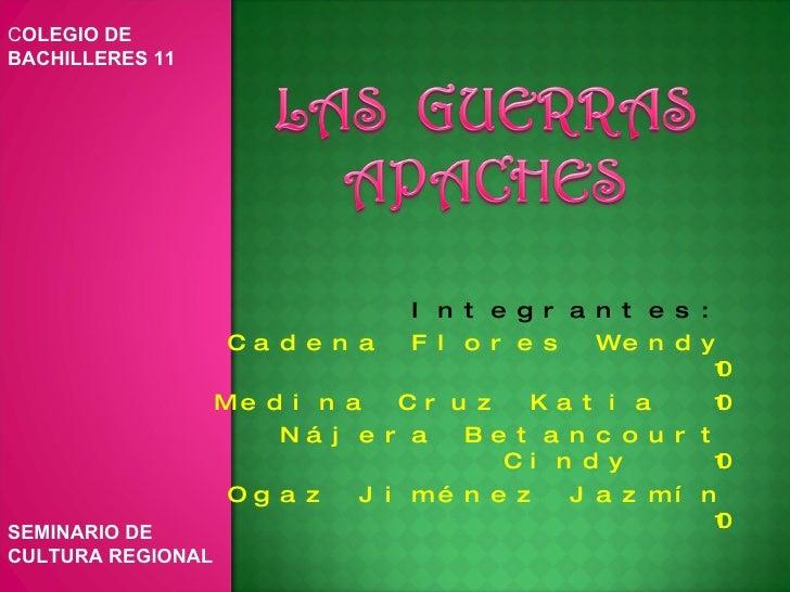 Integrantes: Cadena Flores Wendy  10 Medina Cruz Katia  10 Nájera Betancourt Cindy  10 Ogaz Jiménez Jazmín  10 C OLEGIO DE...