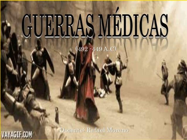 (492 -449 A.C) Docente: Rafael Moreno