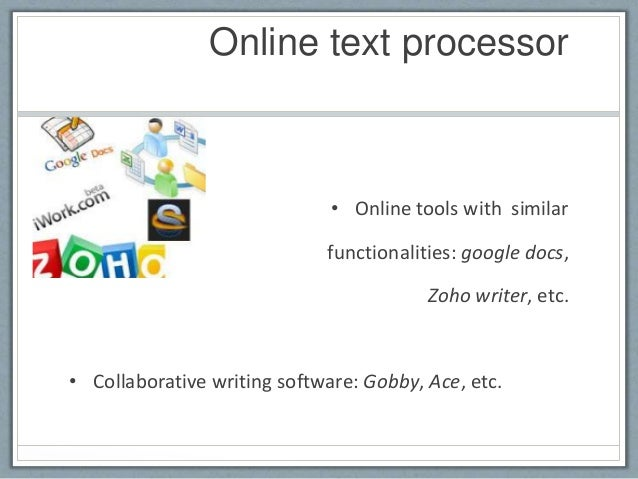 online collaborative writing tools 5 excellent web tools to teach collaborative writing here some of the web tools to encourage and foster collaborative writing : this my number one tool for.