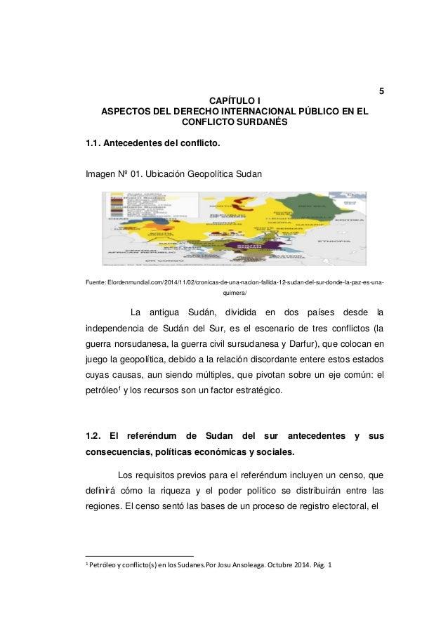 Guerra CIVIL SUR SUDANESA, análisis de casos II DIH