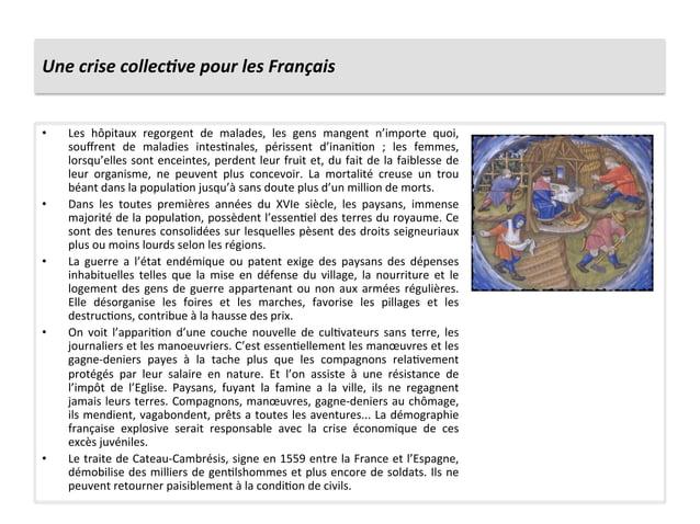 Une crise collec6ve pour les Français • Les  hôpitaux  regorgent  de  malades,  les  gens  mang...