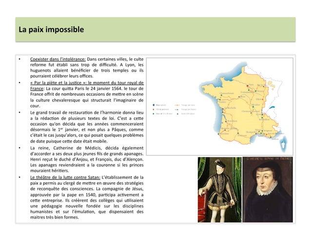 La paix impossible • Coexister dans l'intolérance: Dans certaines villes, le culte reforme  fut ...