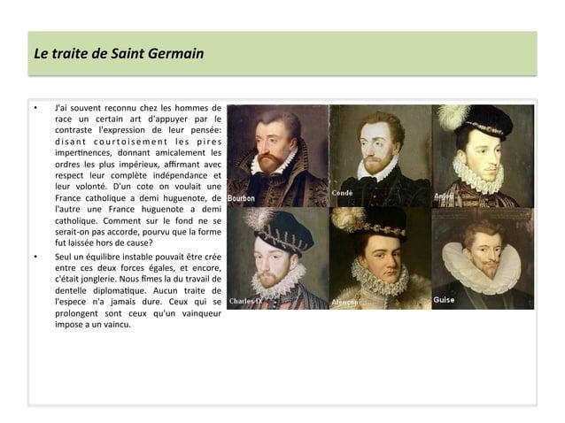Le traite de Saint Germain • Jai  souvent  reconnu  chez  les  hommes  de race  un  certain ...