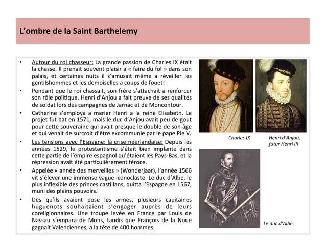 L'ombre de la Saint Barthelemy • Autour du roi chasseur: La grande passion de Charles IX ét...