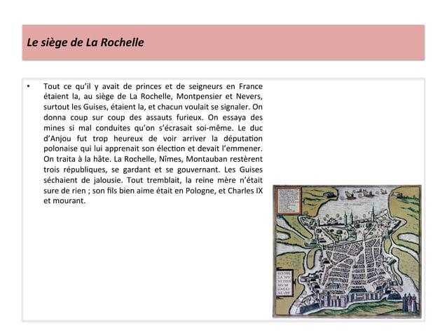 Le siège de La Rochelle • Tout  ce  qu'il  y  avait  de  princes  et  de  seigneurs  en  ...