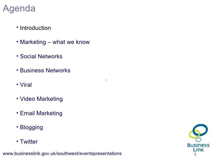 <ul><li>Introduction </li></ul><ul><li>Marketing – what we know </li></ul><ul><li>Social Networks </li></ul><ul><li>Busine...