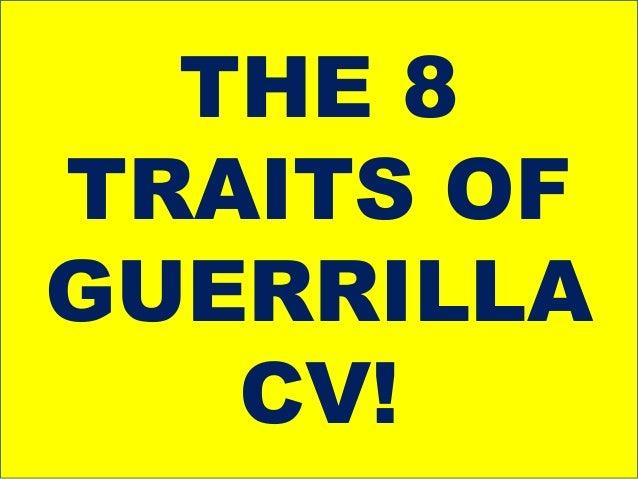 guerrilla cv by ashraf chaudhry