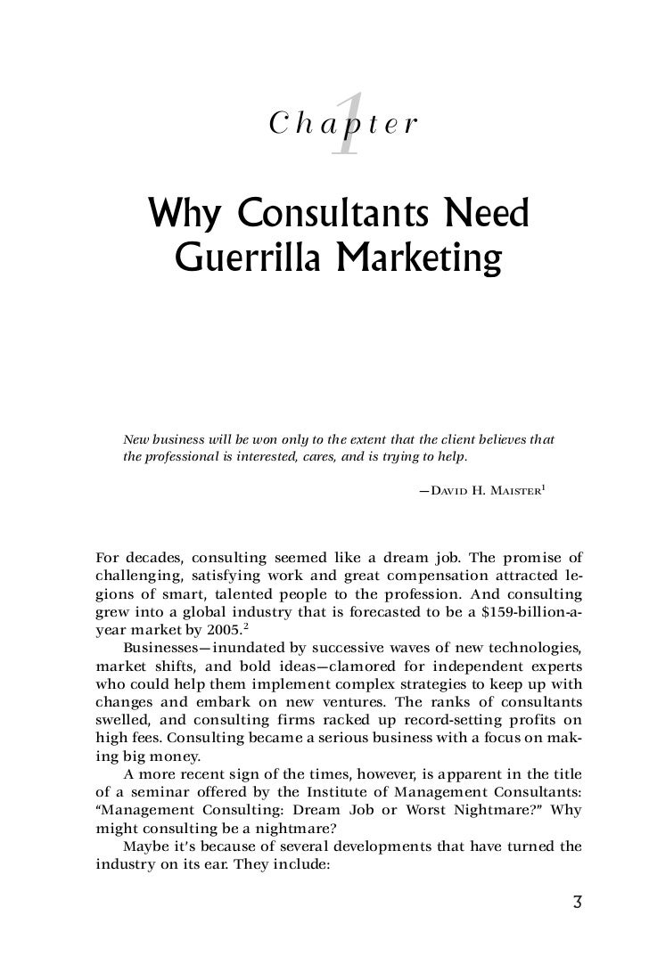 thesis on guerilla marketing The objective of this thesis work was to introduce guerrilla marketing as a valuable marketing method for small and medium size startup companies the thesis presents the theoretical studies on the subject based on literature and case studies the practical use of the theory is demonstrated in the.