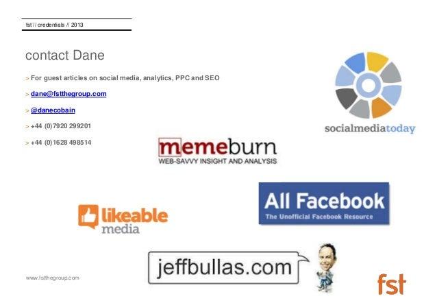 Dane Cobain - Guest Blogging CV Slide 3