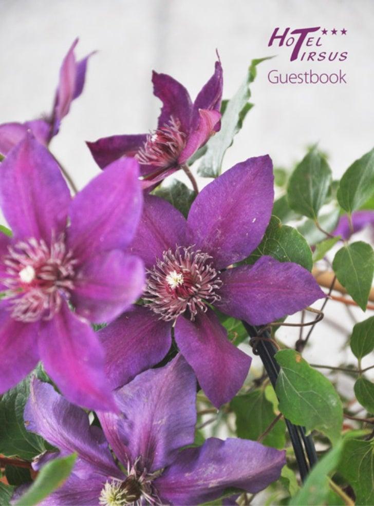 Guestbook Hotel Tirsus Aggiornato Maggio  2012