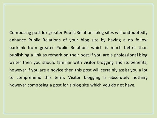 Guest posting the ultimate professional guest posting