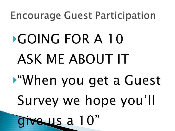 medallia guest voice Guest Survey Systems Medallia By Michael Allen