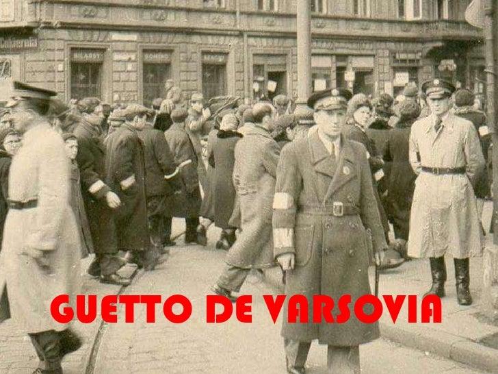 GUETTO DE VARSOVIA<br />