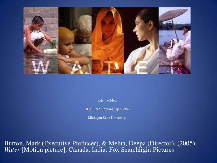 Kristine MoxHDFS 892 Growing Up GlobalMichigan State University<br />Burton, Mark (Executive Producer), & Mehta, Deepa (Di...