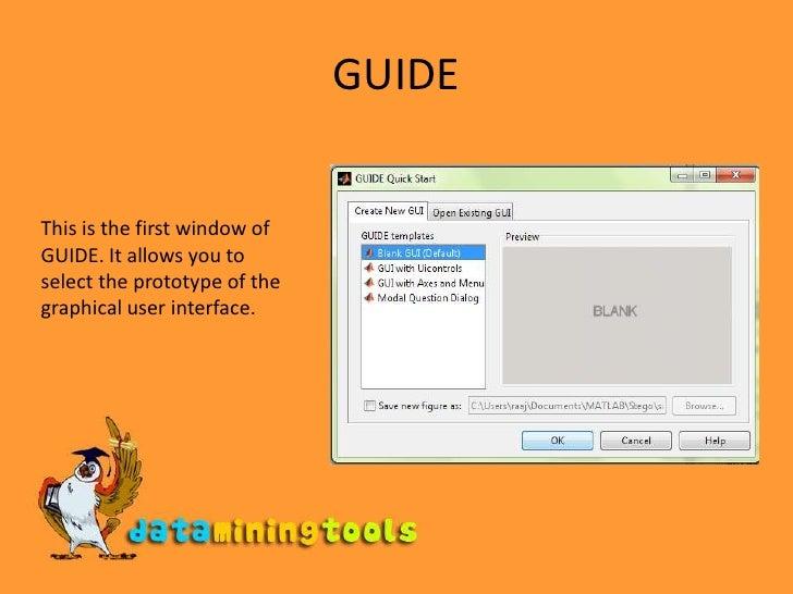 matlab building gui tools pdf