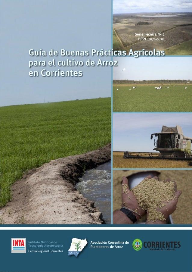 Guia Bpa Arroz Ctes 2016 Argentina