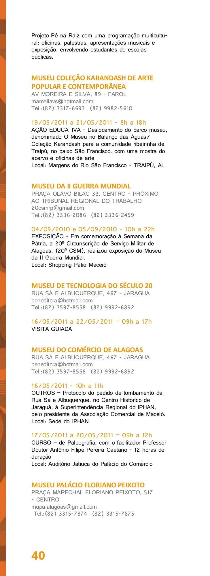"""16/05/2011 - 11h a 12hEXIBIÇÃO DE FILME – """"Igreja Segura, Igreja Aberta""""- Experiência exitosa do Projeto da Polícia Judici..."""