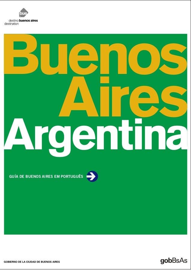 Buenos  AiresArgentinaGUÍA DE BUENOS AIRES EM PORTUGUÊS