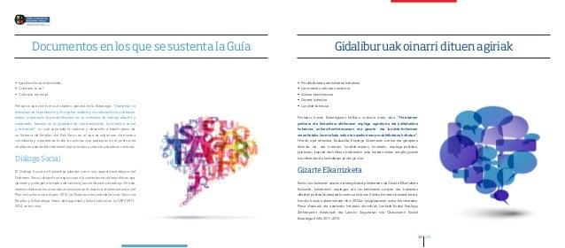 Documentos en los que se sustenta la Guía                                                          Gidaliburuak oinarri di...