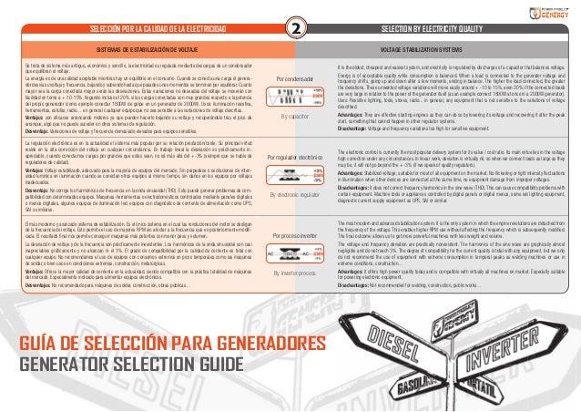 Guia como elegir generador electrico Slide 3