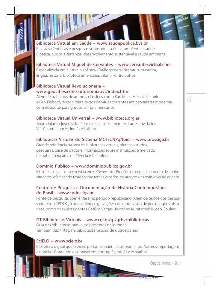 Guia da internet 2011