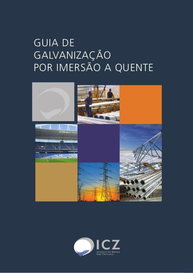 GUIA DE  GALVANIZAÇÃO  POR IMERSÃO A QUENTE  1