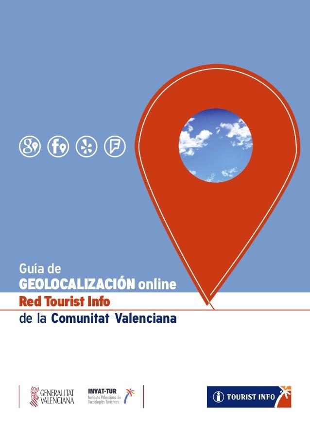 Guía de GEOLOCALIZACIÓN online Red Tourist Info de la Comunitat Valenciana