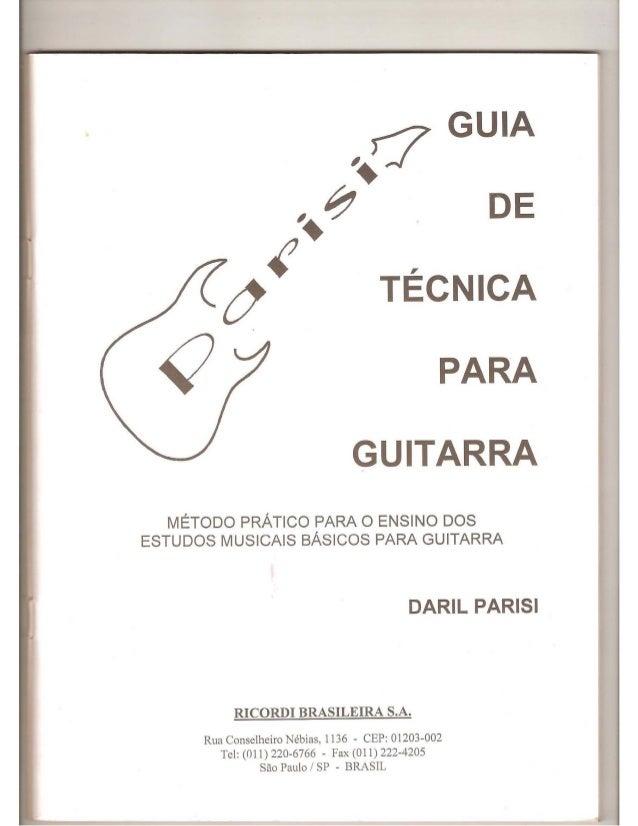 Metodo de guitarra daril parisi download google