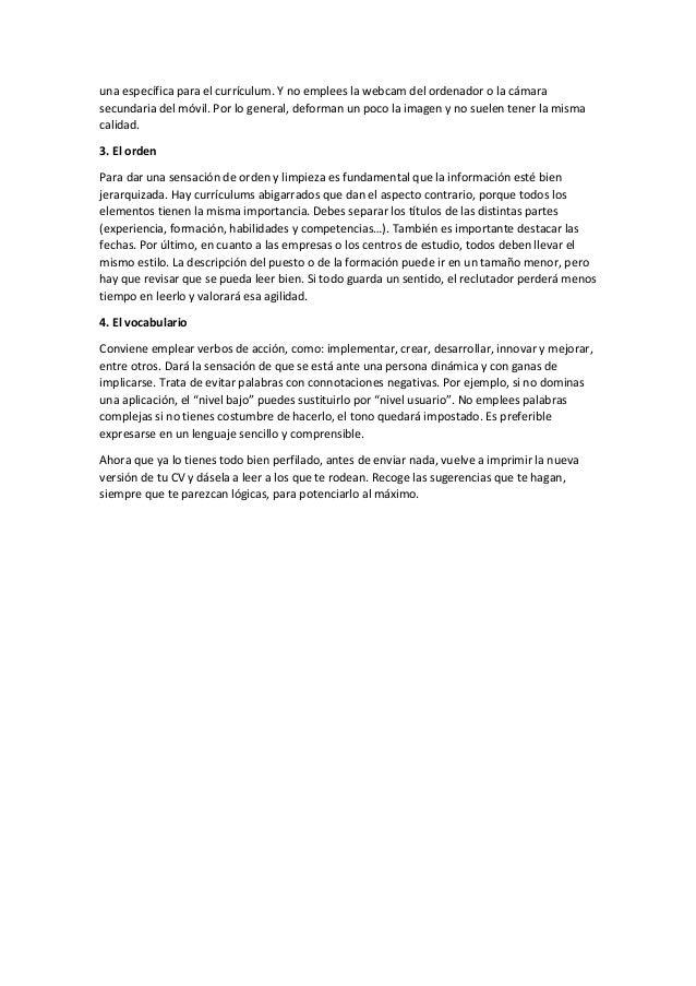 Vistoso Verbos De Acción Para La Construcción De Currículums Molde ...