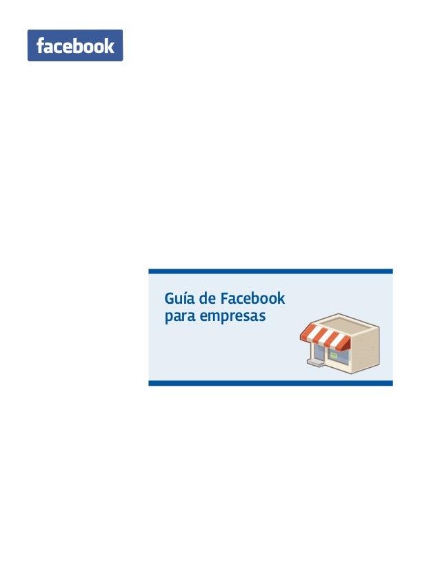 Guía de Facebook para empresas