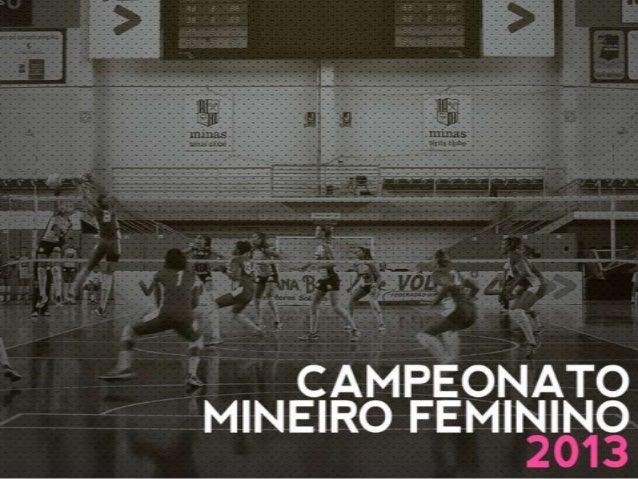 Guia - final do Campeonato Mineiro Feminino 2013