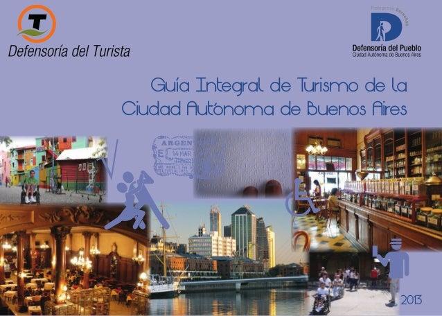 Guía Integral de T urismo de la Ciudad Autónoma de Buenos Aires  2013  1