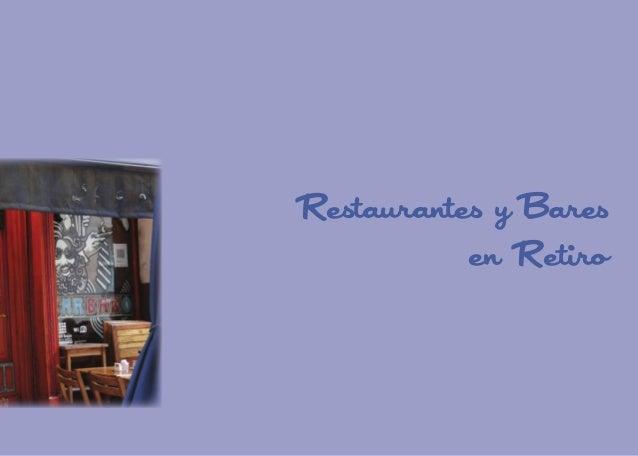 Restaurantes y Bares en Retiro  107