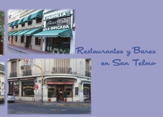 Restaurantes y Bares en San Telmo  59