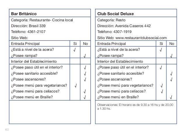 Bar Británico  Club Social Deluxe  Categoría: Restaurante- Cocina local  Categoría: Resto  Dirección: Brasil 339  Direcció...