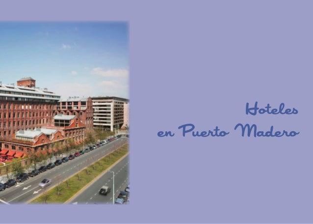 Hoteles en Puerto Madero  81