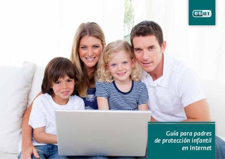 Guía para padresde protección infantil          en Internet