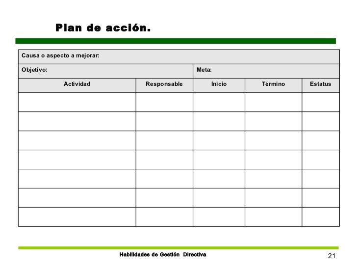 Hermosa Plan De Acción De Plantillas Imagen - Colección De ...