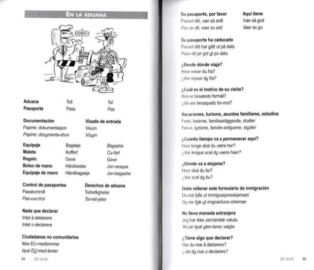 Guia practica de conversacion espanol noruego
