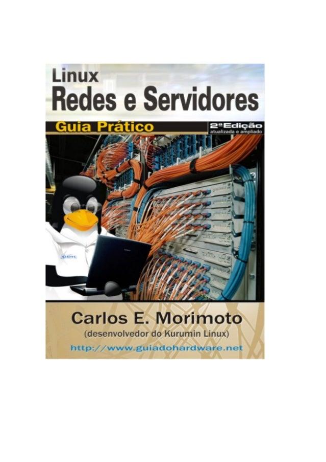 Servidores Linux Guia Pratico Carlos E Morimoto Pdf